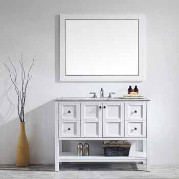 White - With Mirror - Lifestyle View 1