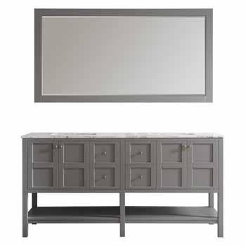 Grey - With Mirror - Display View 1