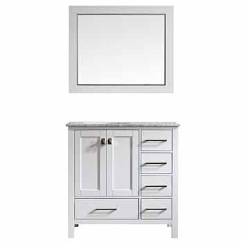 White - With Mirror - Display View 1