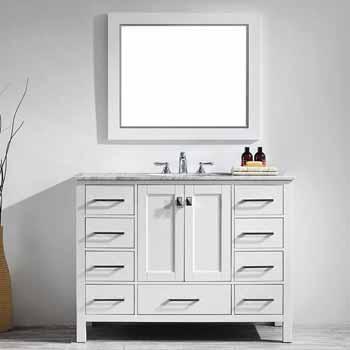 White - With Mirror - Lifestyle View