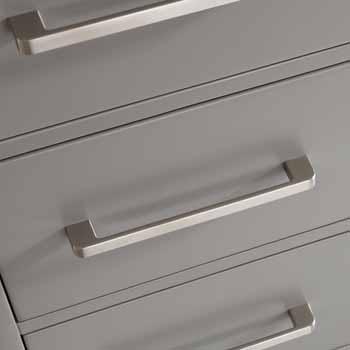 60'' Grey - No Mirror - Close Up 1