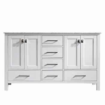 60'' White - No Mirror - Display View 1