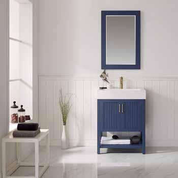 28'' Vinnova Royal Blue Lifestyle View