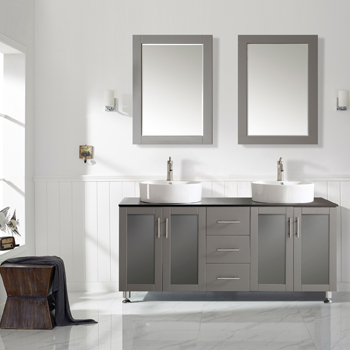 Grey Lifestyle View Mirror 1
