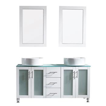 White Display View Mirror 1
