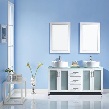 White Lifestyle View Mirror 1
