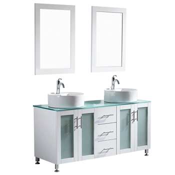 White Display View Mirror 2