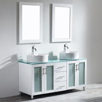 White Lifestyle View Mirror 2