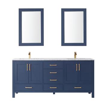 Vinnova Bathroom Vanity 72'' Display View Blue