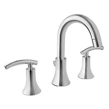"Virtu Athen Bathroom Faucet, Polished Chrome Finish, 14""W x 7""D x 9""H"