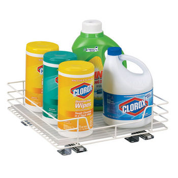 """Household Essentials 15"""" Pantry Organizer/Single Pack in White"""