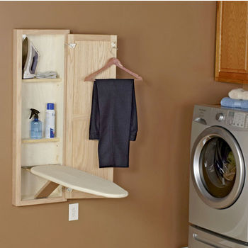 Household Essentials Adjustable w/ One Piece Cover And Pad in White