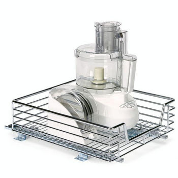 Household Essentials Kitchen Base Cabinet 14 1 2 Wide Sliding Basket Min Cab Opening W X 17 3 4 D 6 8 H