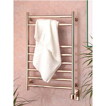 Wesaunard Chrome Eutopia 8 Rail Towel Warmer 15 3 4 W  Chrome  Electric. Hydronic Towel Warmers in Wall Mounted Styles With Fine Finishes