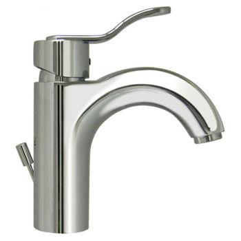 Whitehaus Single Hole/Single Level Bathroom Faucet in Polished Chrome