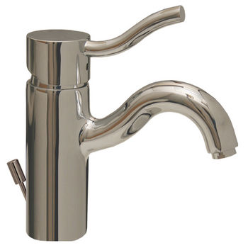 Whitehaus - Venus Single Hole/Single Lever Faucet, Polished Chrome