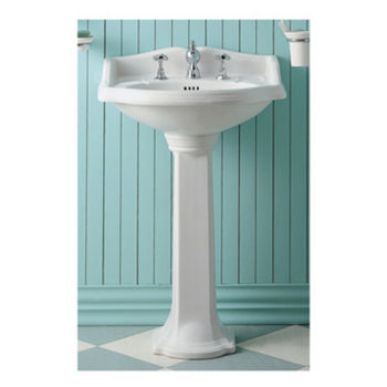 bathroom pedestal sinks. Whitehaus China Bathroom Pedestal Sink, White Sinks T