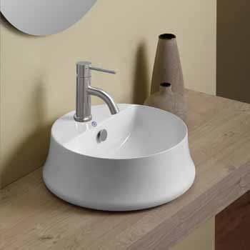 Round With Faucet Hole - Lifestyle 1
