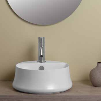 Round With Faucet Hole - Lifestyle 2