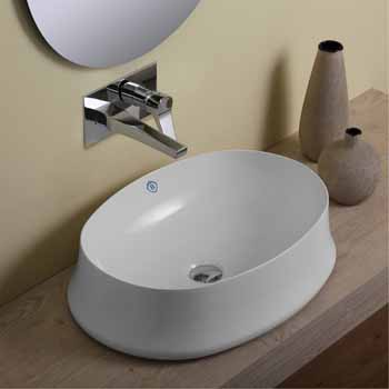 Oval No Faucet Hole - Lifestyle 1