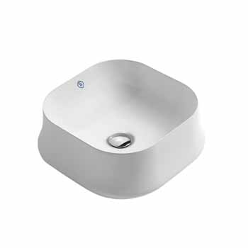 Square No Faucet Hole - Display