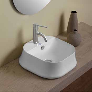 Square With Faucet Hole - Lifestyle 1