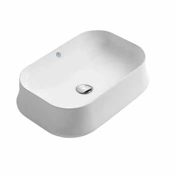 Rectangular No Faucet Hole - Display