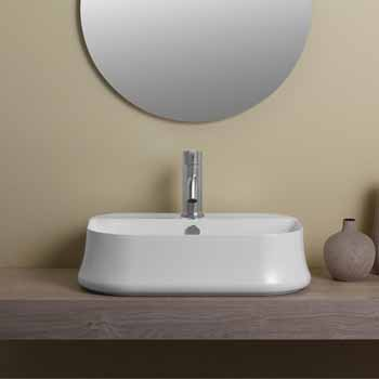 Rectangular With Faucet Hole - Lifestyle 2