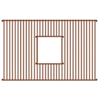 "Whitehaus - Rectangular Copperhaus Sink Grid 22"" W"