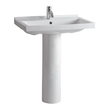 Whitehaus Isabella Collection Rectangular Bathroom Sink