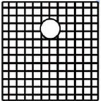 """Noah Collection - Matching Sink Grid, 17"""" W x 18"""" D, 1 Grid"""