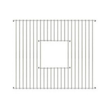 Whitehaus - Fireclay Sink Grid - Square Shape, Stainless Steel