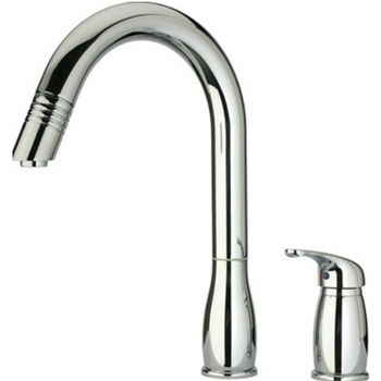 Whitehaus Two Hole Faucet w/ Pull Down Spray Head
