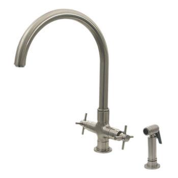 Whitehaus - Single Hole/Dual Handle Faucet