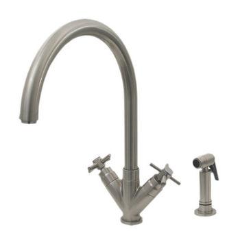 Whitehaus - Gooseneck Swivel Spout Faucet