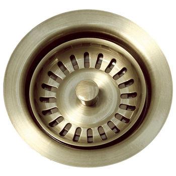 Whitehaus Waste Disposer Trim, Antique Brass