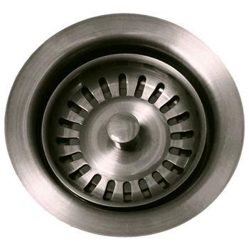 Whitehaus Waste Disposer Trim, Brushed Nickel