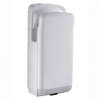 """Whitehaus Hand Dryer Series Hands-Free Wall Mount Hand Dryer in White, 11-1/2"""" W x 8-3/4"""" D x 27"""" H"""