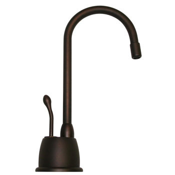 Whitehaus - Forever Hot Kitchen Faucet, Mahogany Bronze