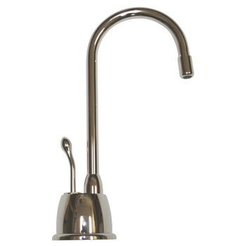 Whitehaus - Forever Hot Kitchen Faucet, Polished Chrome