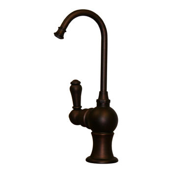 Whitehaus - Forever Hot Kitchen Faucet, Mahogany Bronze