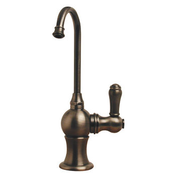 Whitehaus - Forever Hot Kitchen Faucet, Pewter