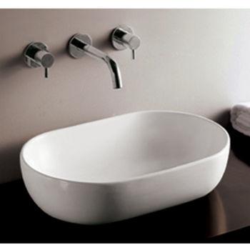 Isabella Oval Above-Mount Bath Sink