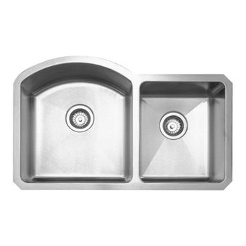 Noah Collection - Chefhaus Double Bowl Undermount Sink