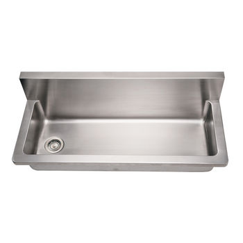 Noah Collection - Commercial Utility Sink, Brushed Stainless Steel
