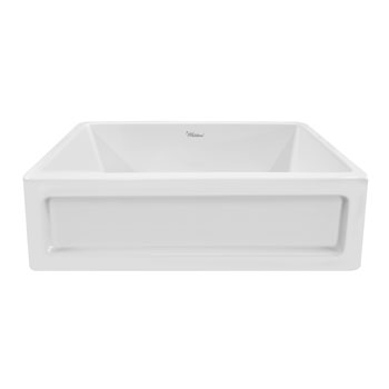 Shaker Sink in White Display View 2