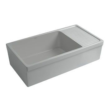 2-1/2'' Lip Sink in Matte Light Cement Display View 2