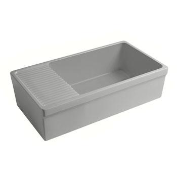 2-1/2'' Lip Sink in Matte Light Cement Display View 1