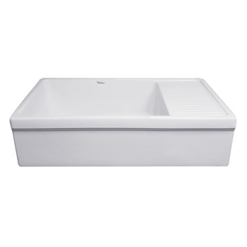 2-1/2'' Lip Sink in Matte White Display View 3