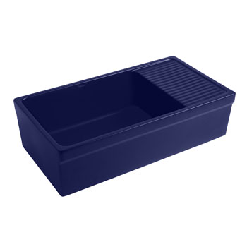 2-1/2'' Lip Sink in Sapphire Blue Display View 1